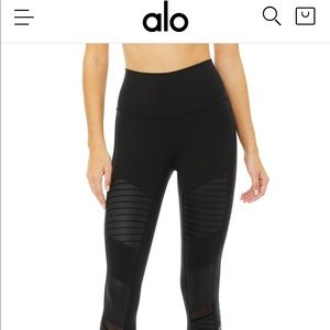 Alo high waist Moto legging medium